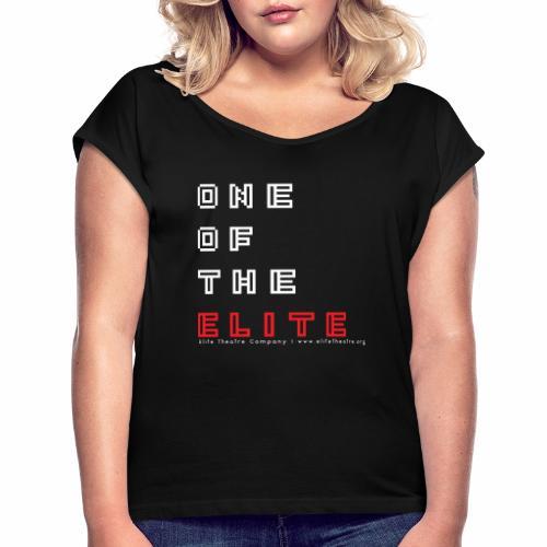 8bit of the Elite - Women's Roll Cuff T-Shirt
