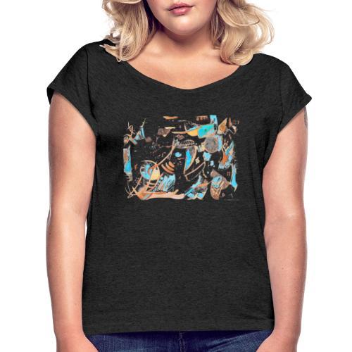 Firooz - Women's Roll Cuff T-Shirt