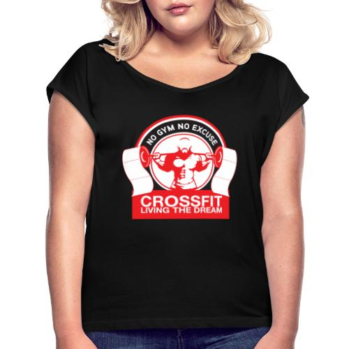 Toilet Paper - Women's Roll Cuff T-Shirt