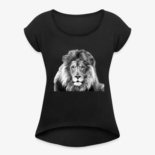 LION-7 - Women's Roll Cuff T-Shirt