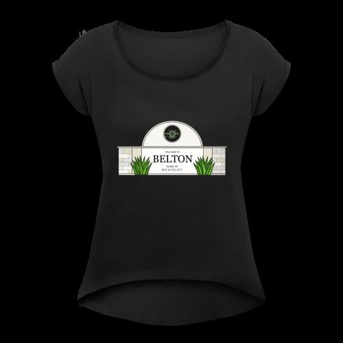 THE CITY - Women's Roll Cuff T-Shirt