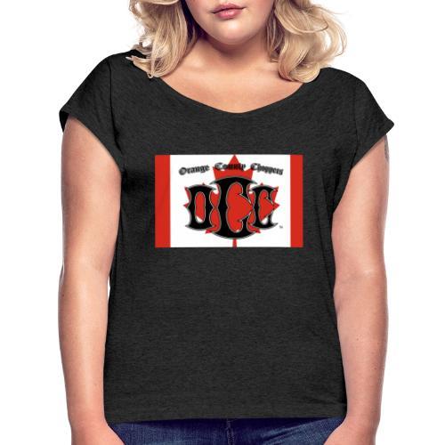 OCC Canada - Women's Roll Cuff T-Shirt