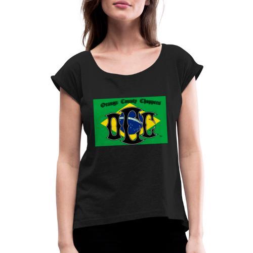 OCC Brazil - Women's Roll Cuff T-Shirt