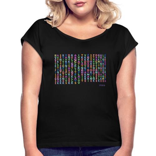 PSMA8 - Women's Roll Cuff T-Shirt