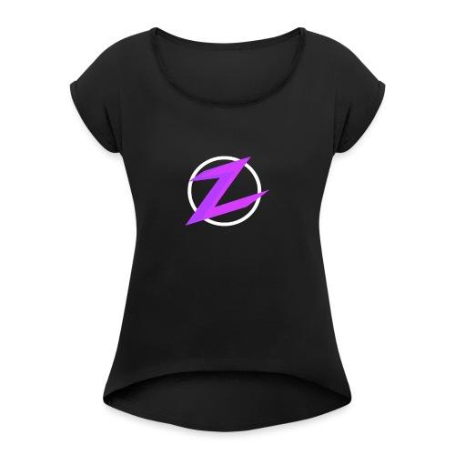 zwiftify - Women's Roll Cuff T-Shirt