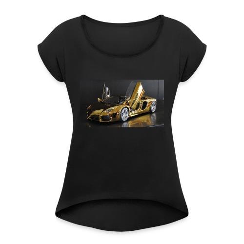lilbreeze 21 - Women's Roll Cuff T-Shirt