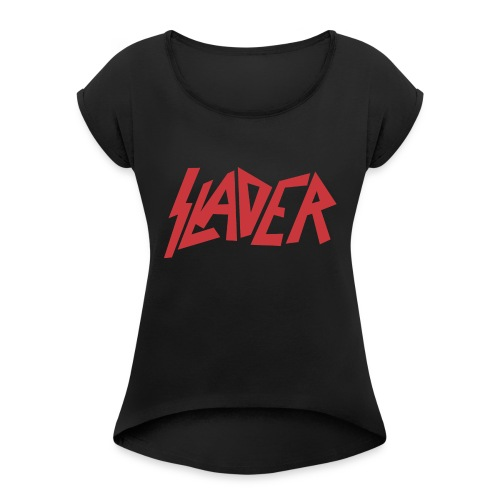 Slader - Women's Roll Cuff T-Shirt