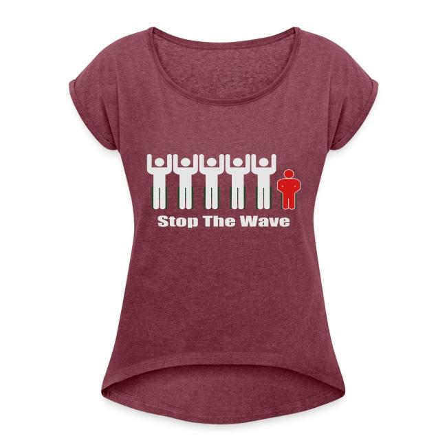 Men's Stop The Wave Logo T-Shirt