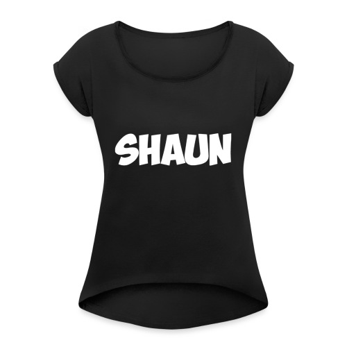 Shaun Logo Shirt - Women's Roll Cuff T-Shirt