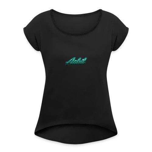 aahilmerch.ca - Women's Roll Cuff T-Shirt