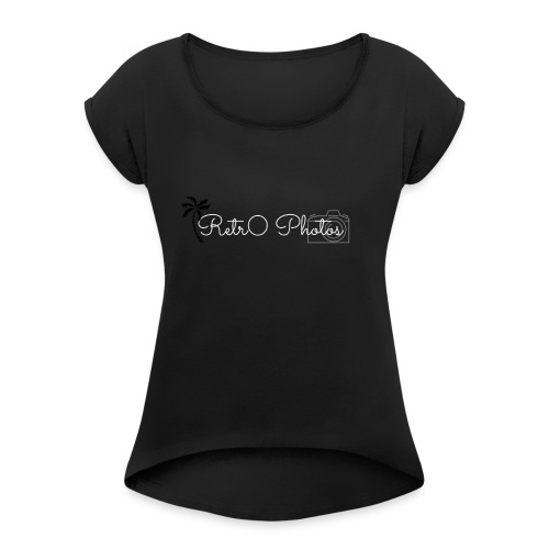 retr0 hoodie logo - Women's Roll Cuff T-Shirt
