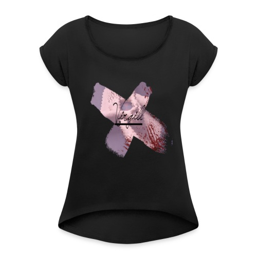 Virgill X Cross - Women's Roll Cuff T-Shirt