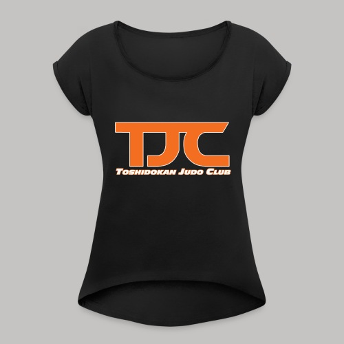 TJCorangeBASIC - Women's Roll Cuff T-Shirt