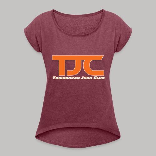 TJCorangeBASIC - Women's Roll Cuff T-Shirt