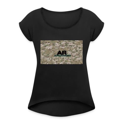 Alpha Ranger Apperal - Women's Roll Cuff T-Shirt