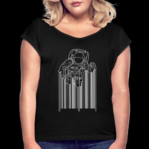 Scan Space - Women's Roll Cuff T-Shirt