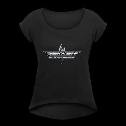 Tekken Maritimes Logo transparent - Women's Roll Cuff T-Shirt