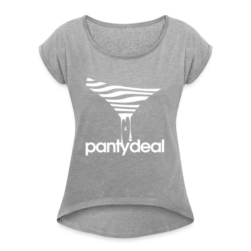 Slip Logo - Women's Roll Cuff T-Shirt