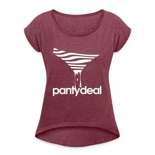 Slip Logo - Women's Roll Cuff T-Shirt