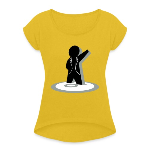 Not A Number - Women's Roll Cuff T-Shirt