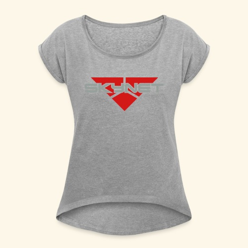 Skynet - Women's Roll Cuff T-Shirt