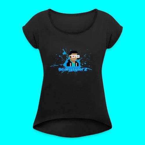 ScaryTylerZ Merchandise - Women's Roll Cuff T-Shirt