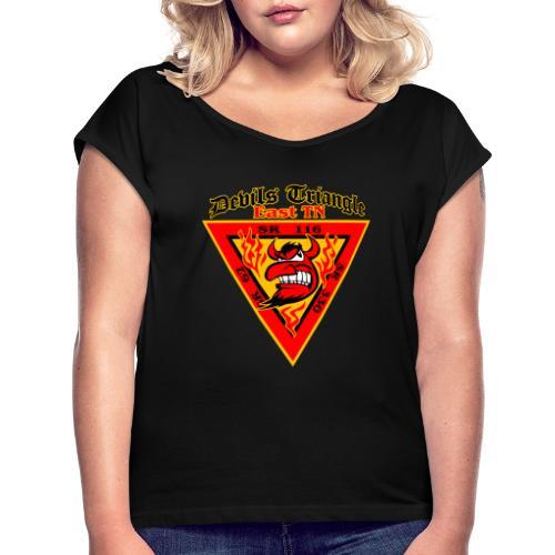 Devils Triangle Tennessee - Women's Roll Cuff T-Shirt