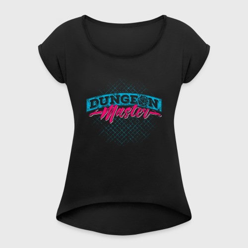Dungeon Master & Dragons - Women's Roll Cuff T-Shirt