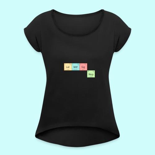 Modern Chemistry - Women's Roll Cuff T-Shirt