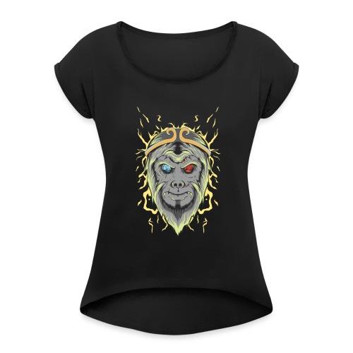 d21 - Women's Roll Cuff T-Shirt