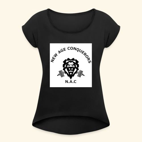 NEW AGE CONQUERORS - Women's Roll Cuff T-Shirt