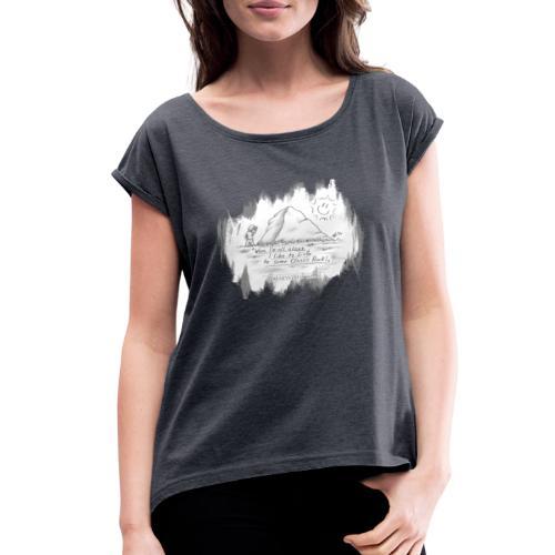 Listen to Classic Rock - Women's Roll Cuff T-Shirt