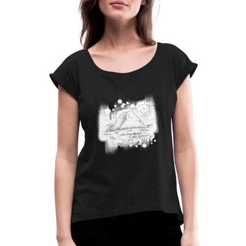 Listen to Hardrock - Women's Roll Cuff T-Shirt