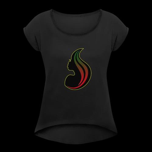 RBGgirl - Women's Roll Cuff T-Shirt