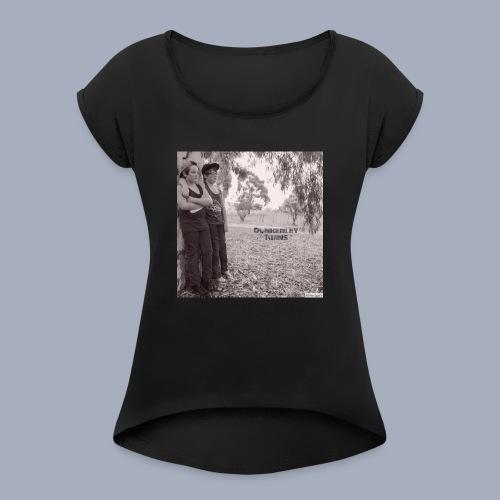 dunkerley twins - Women's Roll Cuff T-Shirt