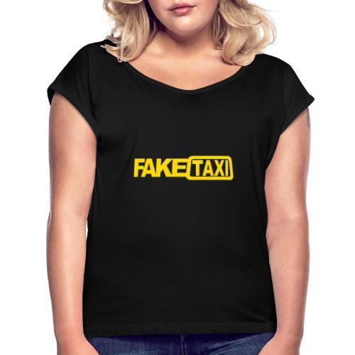 FAKE TAXI Duffle Bag - Women's Roll Cuff T-Shirt
