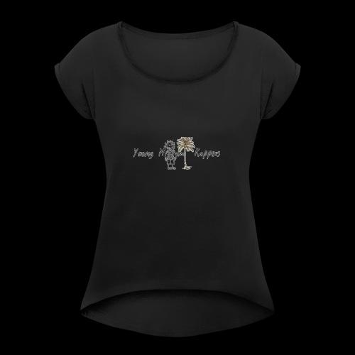 imageedit 1 4291946001 - Women's Roll Cuff T-Shirt
