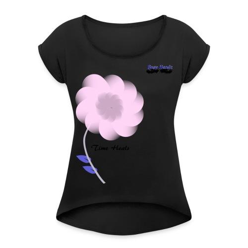 Busyhandz Affection Women's Long Sleeve Jersey T-S - Women's Roll Cuff T-Shirt