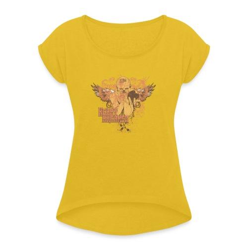 teetemplate54 - Women's Roll Cuff T-Shirt