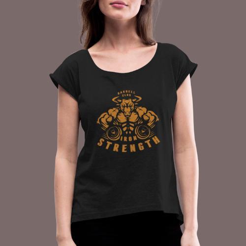 Gold Bull - Women's Roll Cuff T-Shirt