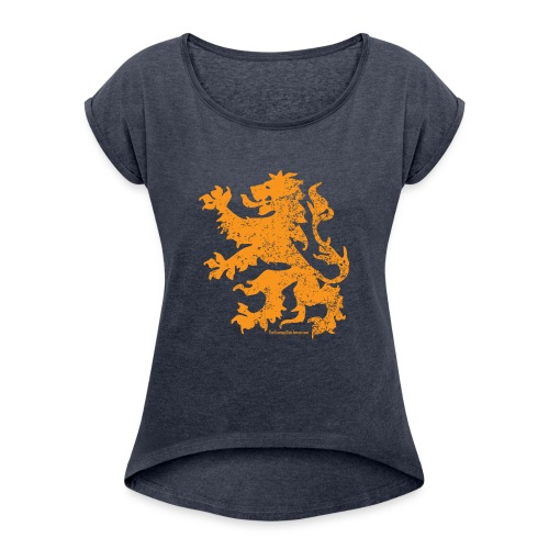 Dutch Lion - Women's Roll Cuff T-Shirt