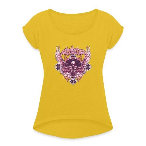 Sinister Tee - Women's Roll Cuff T-Shirt