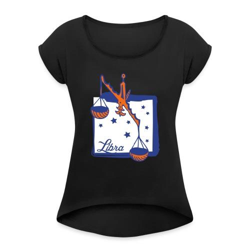 Libra - Women's Roll Cuff T-Shirt
