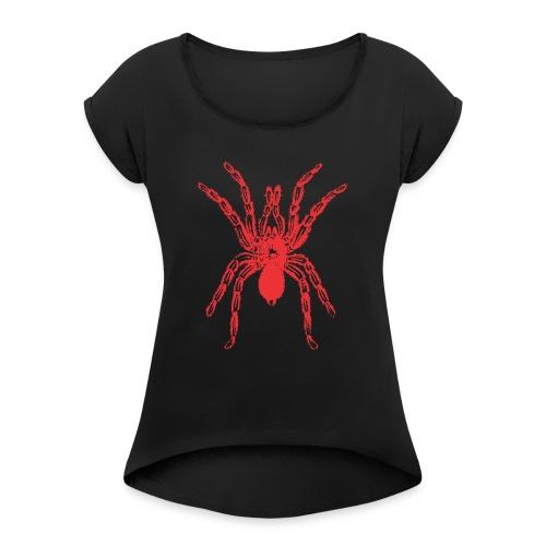 Spider - Women's Roll Cuff T-Shirt