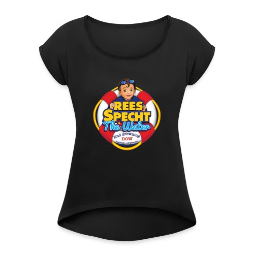 RSTWHIGH - Women's Roll Cuff T-Shirt