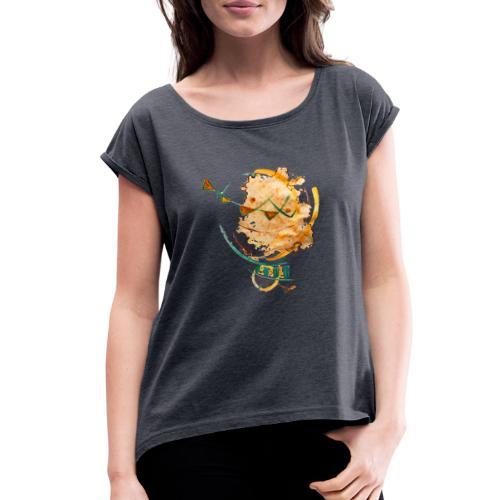ILand - Women's Roll Cuff T-Shirt