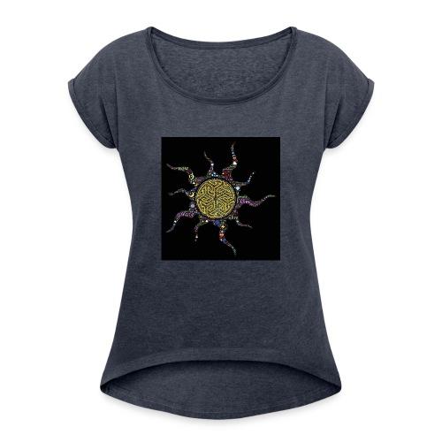 awake - Women's Roll Cuff T-Shirt