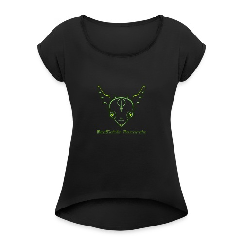 ModGoblin mouse pad - Women's Roll Cuff T-Shirt