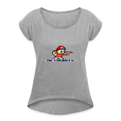 RetroBits Clothing - Women's Roll Cuff T-Shirt