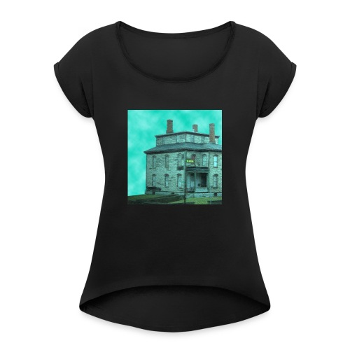 The Long Road Cover (House Only) - Women's Roll Cuff T-Shirt